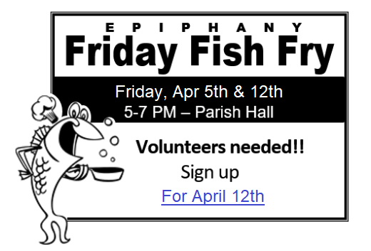 2019-Epiphany Fish Fry - 2 @ Epiphany Parish Hall